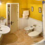 Baño completo dormitorios