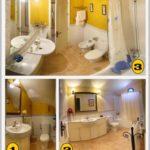 3 baños en la casa